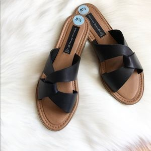 Steven by Steve Madden sandals leather sz:8.5 hot